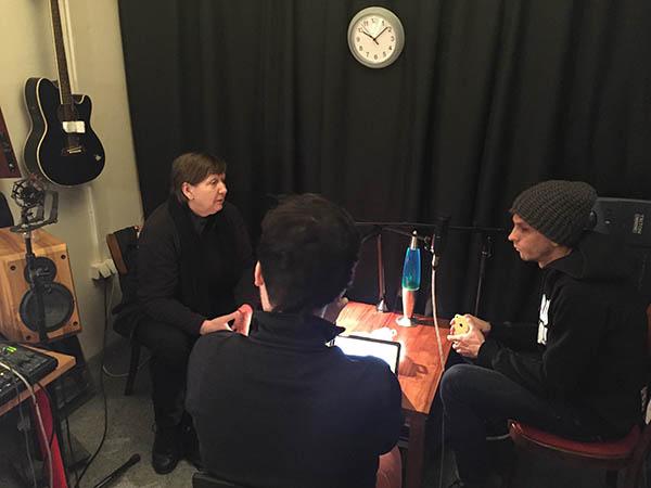 Nahrávanie podcastu Dilemy pre Mono.sk